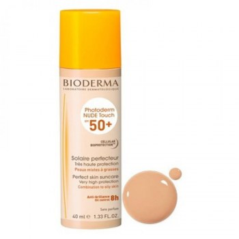 bioderma photoderm nude touch spf50 color natural 40ml
