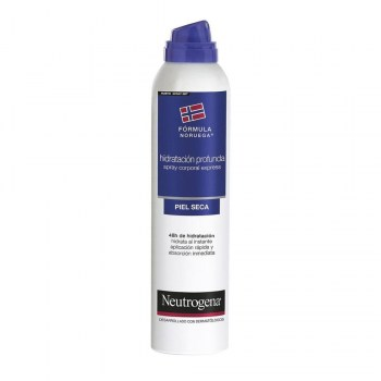 neutrogena hidratacion profunda express spray corporal 200 ml